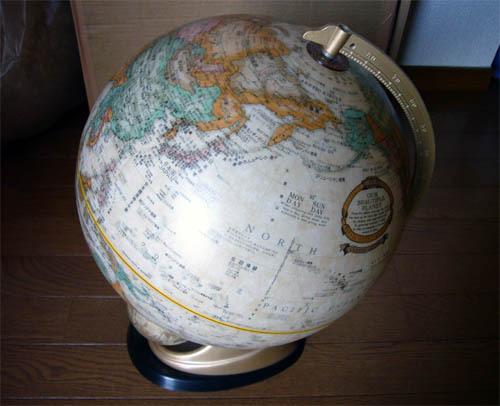 地球儀を入手.jpg
